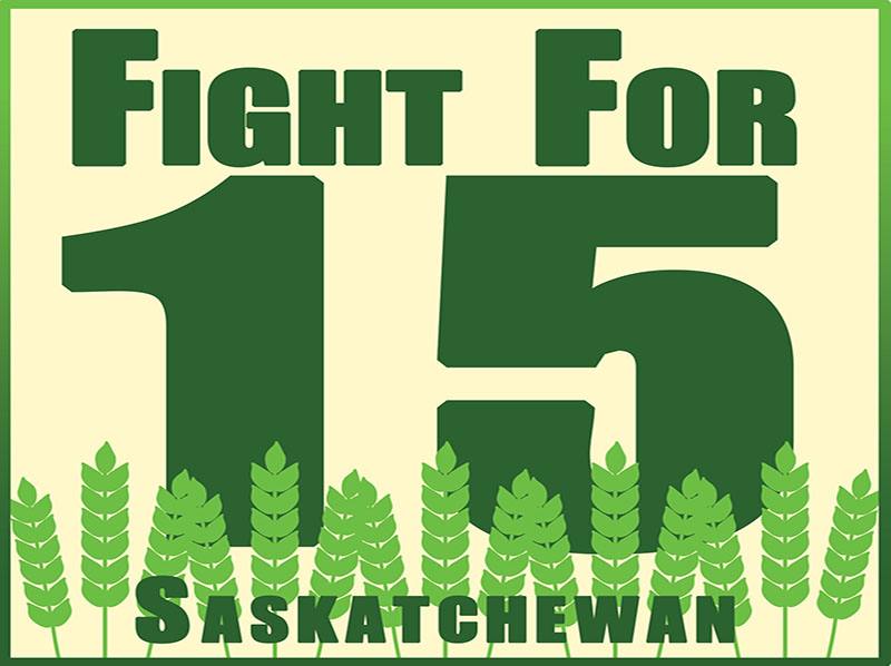 Media Release: Workers in Regina and Saskatoon demand a $15 minimum wage